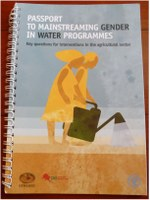 Tool for mainstreaming gender in agricultural water programmes published